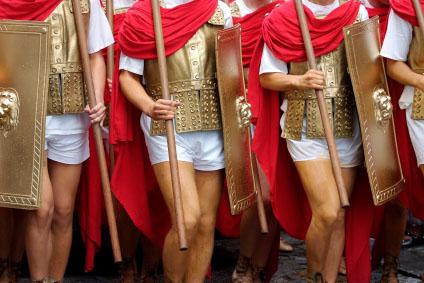 Roman Legionnaires Pierced Nipples