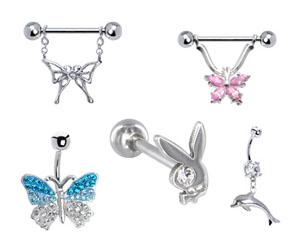 Silver Body Jewelry