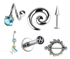 Stainless Steel Body Jewelry