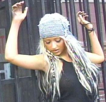 Christina Aguilera's Nipple Piercing